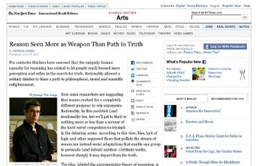 http://www.nytimes.com/2011/06/15/arts/people-argue-just-to-win-scholars-assert.html?pagewanted=1