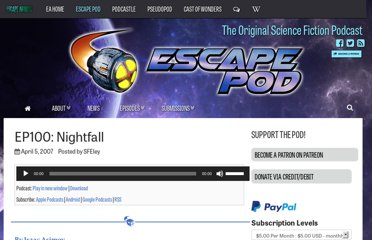 http://escapepod.org/2007/04/05/ep100-nightfall/