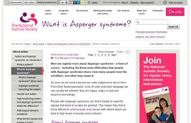 http://www.autism.org.uk/about-autism/autism-and-asperger-syndrome-an-introduction/what-is-asperger-syndrome.aspx