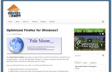 http://www.firefoxfacts.com/2010/10/20/optimized-firefox-for-windows-users/