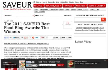 http://www.saveur.com/article/Kitchen/2011-SAVEUR-Best-Food-Blog-Awards-Winners