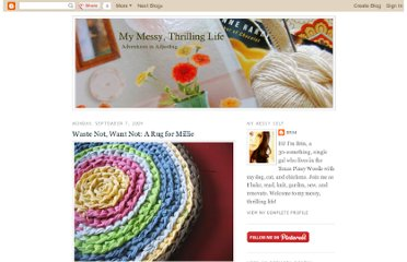 http://messythrillinglife.blogspot.com/2009/09/waste-not-want-not-rug-for-millie.html