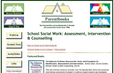 http://www.parentbooks.ca/School_SW_Assessment_Intervention_&_Counselling.html