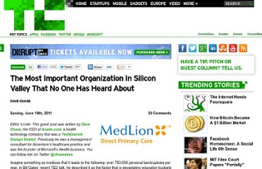 http://techcrunch.com/2011/06/19/the-most-important-organization-in-silicon-valley-that-no-one-has-heard-about/