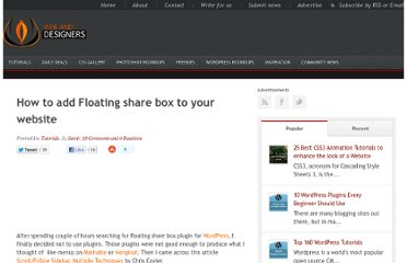 http://www.webanddesigners.com/floating-share-box/