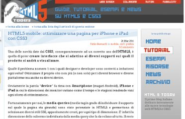 http://www.html5today.it/tutorial/html5-mobile-ottimizzare-pagina-iphone-ipad-css3