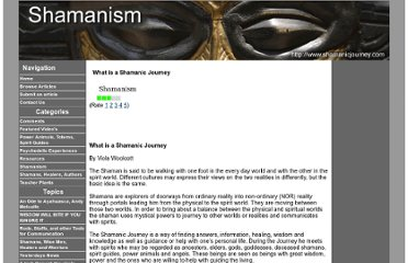 http://www.shamanicjourney.com/article/5957/what-is-a-shamanic-journey