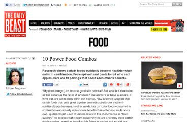 http://www.thedailybeast.com/articles/2010/03/18/10-power-food-combos.html