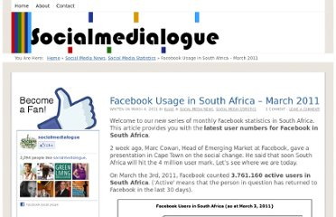 http://www.socialmedialogue.com/facebook-usage-in-south-africa-march-2011/542/