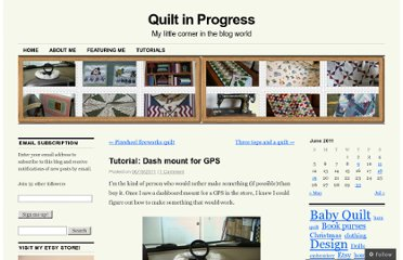 http://quiltinprogress.wordpress.com/2011/06/19/tutorial-dash-mount-for-gps/