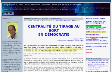 http://etienne.chouard.free.fr/Europe/forum/index.php?2011/04/27/123-centralite-du-tirage-au-sort-en-democratie
