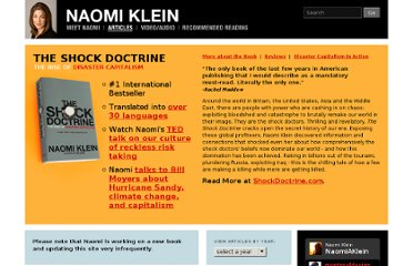 http://www.naomiklein.org/articles/2009/06/schwarzenegger-s-shock-therapy-poor-pay-sins-rich