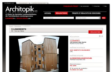 http://architopik.lemoniteur.fr/index.php/realisation-architecture/5_logements/984