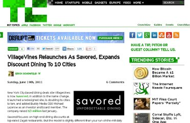 http://techcrunch.com/2011/06/19/savored/