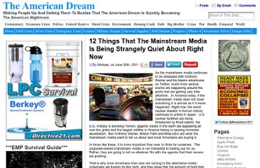 http://endoftheamericandream.com/archives/12-things-that-the-mainstream-media-is-being-strangely-quiet-about-right-now