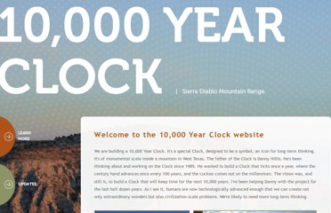 http://www.10000yearclock.net/learnmore.html