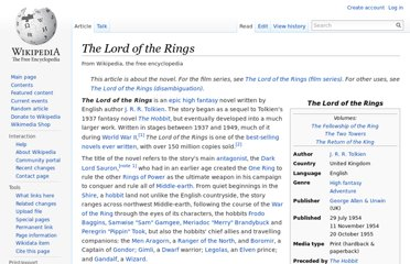 http://en.wikipedia.org/wiki/The_Lord_of_the_Rings