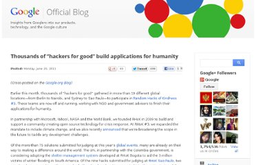 http://googleblog.blogspot.com/2011/06/thousands-of-hackers-for-good-build.html