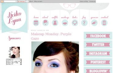 http://www.keikolynn.com/2010/08/makeup-monday-purple-gaze.html