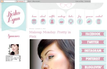 http://www.keikolynn.com/2010/08/makeup-monday-pretty-in-pink.html
