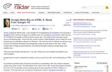 http://radar.oreilly.com/2009/05/google-bets-big-on-html-5.html