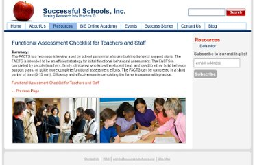 http://successfulschools.org/resources/behavior/functional-assessment-checklist-for-teachers-and-staff