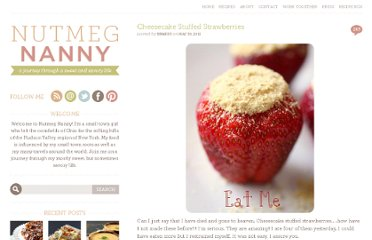 http://www.nutmegnanny.com/2011/05/30/cheesecake-stuffed-strawberries/