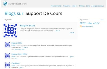 http://fr.wordpress.com/tag/support-de-cours/