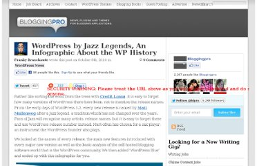 http://www.bloggingpro.com/archives/2010/10/06/wordpress-by-jazz-legends-an-infographic-about-the-wp-history/