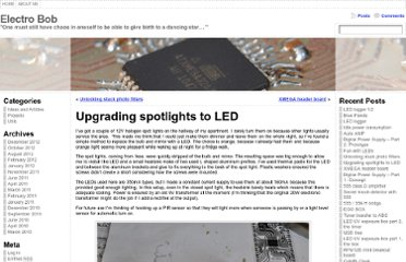 http://www.electrobob.com/upgrading-spotlights-to-led/