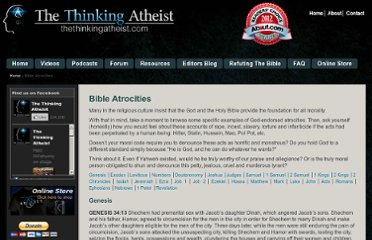 http://www.thethinkingatheist.com/page/bible-atrocities