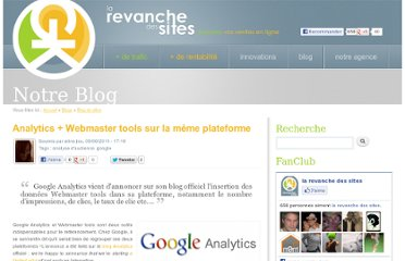 http://www.la-revanche-des-sites.fr/blogs/20110609/analytics-webmaster-tools-plateforme