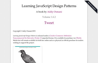 http://addyosmani.com/resources/essentialjsdesignpatterns/book/