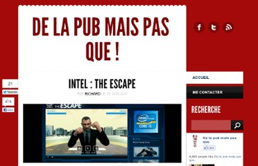 http://delapubmaispasque.fr/2011/06/20/intel-the-escape-le-takeover-par-excellence/