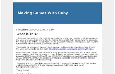 http://devel.manwithcode.com/making-games-with-ruby.html