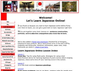 http://www.all-about-teaching-english-in-japan.com/learnjapanese.html