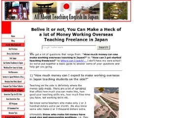 http://www.all-about-teaching-english-in-japan.com/workingoverseas.html