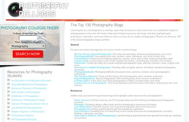 http://www.photography-colleges.org/the-top-100-photography-blogs/