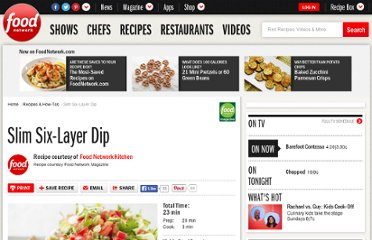 http://www.foodnetwork.com/recipes/slim-six-layer-dip-recipe2/index.html