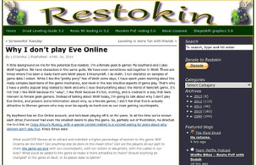 http://www.restokin.com/2010/04/why-i-dont-play-eve-online/