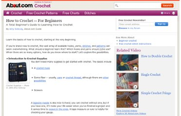 http://crochet.about.com/od/learntocrochet/tp/crochet-for-beginners.htm
