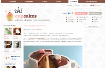 http://www.ohcupcakes.net/recipes-hot-chocolate-cupcakes.php