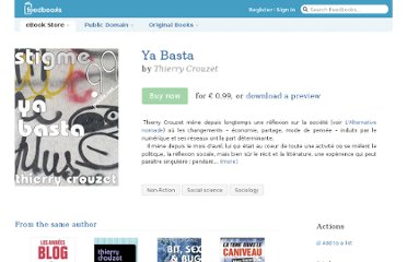 http://fr.feedbooks.com/item/108884/ya-basta