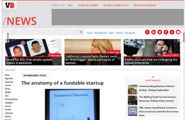 http://venturebeat.com/2011/06/21/the-anatomy-of-a-fundable-startup/