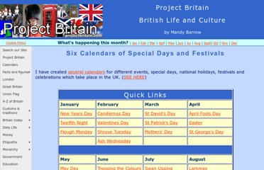 http://projectbritain.com/calendars/index.html