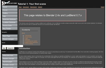 http://www.luxrender.net/wiki/Tutorial_1:_Your_first_scene