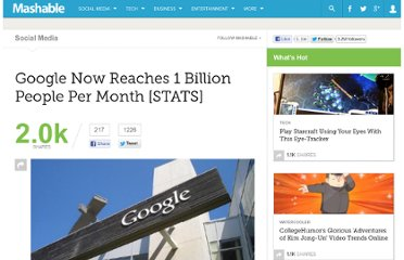 http://mashable.com/2011/06/22/google-breaks-1-billion/