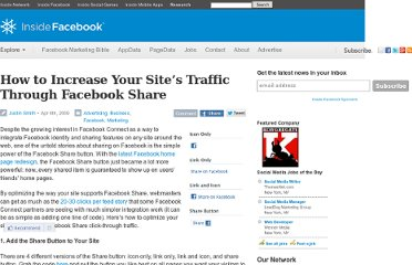 http://www.insidefacebook.com/2009/04/06/increase-your-sites-traffic-through-facebook-share/