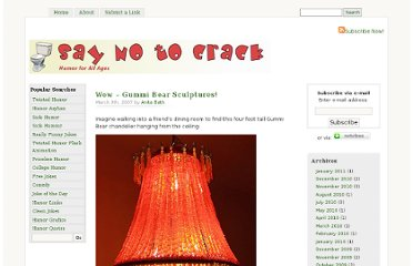http://www.saynotocrack.com/index.php/2007/03/09/wow-gummi-bear-sculptures/
