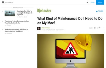 http://lifehacker.com/5814440/what-kind-of-maintenance-do-i-need-to-do-on-my-mac